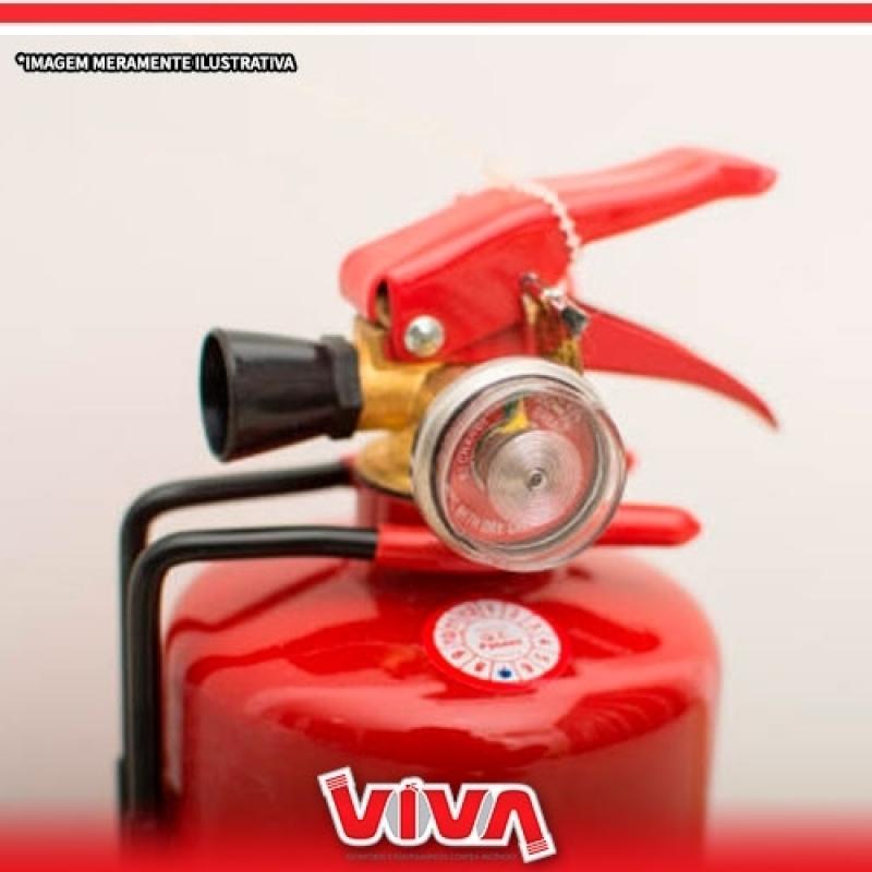 Extintor de Incêndio Classe C Preço Embu das Artes - Extintor de Incêndio Tipo C