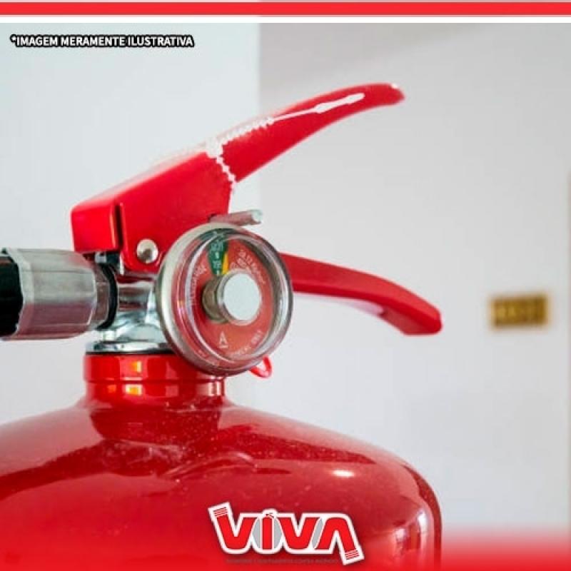 Extintor de Incêndio Grande Alto da Lapa - Extintor de Incêndio Co2