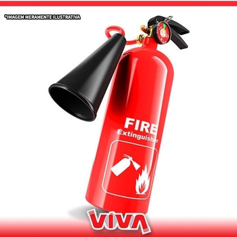 Extintor de Parede Cajamar - Extintor de Incêndio para Cozinha