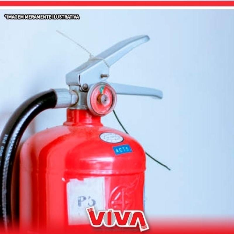 Preço de Extintor Incêndio Água Funda - Extintor de Co2