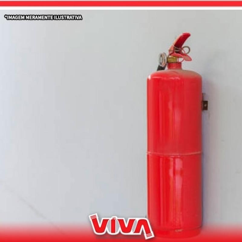 Preço de Extintor Pó Químico Santa Isabel - Extintor de água