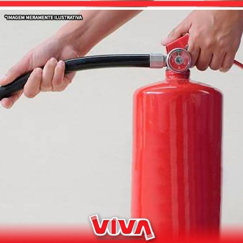 Recarga de Extintor de Empresas Preço Pinheiros - Recarga de Extintor Pó 4kg
