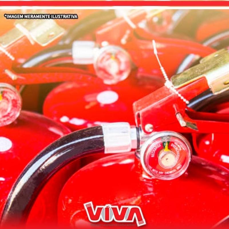 Recarga de Extintor de Gás Carbônico Vila Mazzei - Recarga de Extintor 4 Kilos Pó Abc