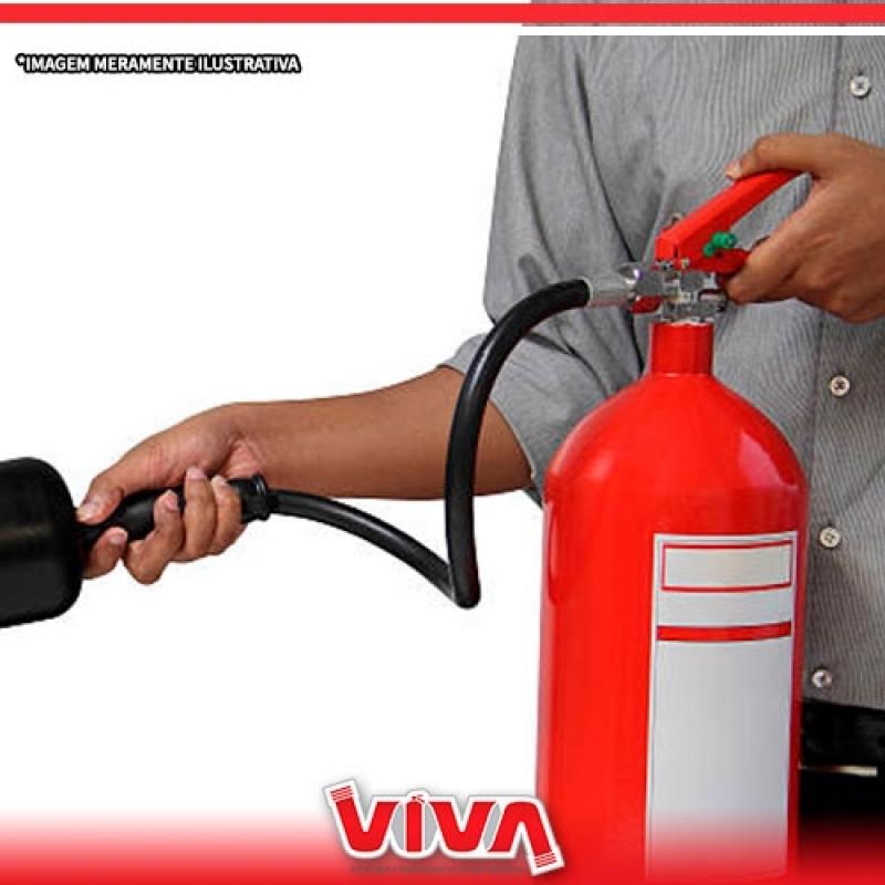 Recarga de Extintor Preço São Paulo - Recarga de Extintor de água