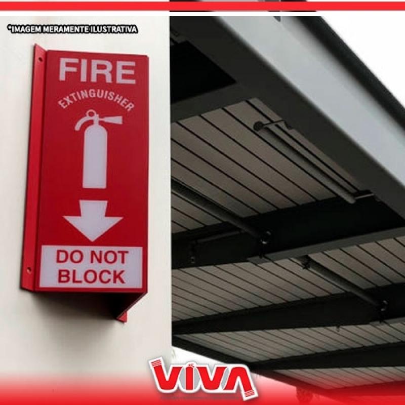 Sinalização de Emergência contra Incêndio Mandaqui - Sinalização para Saída de Emergência