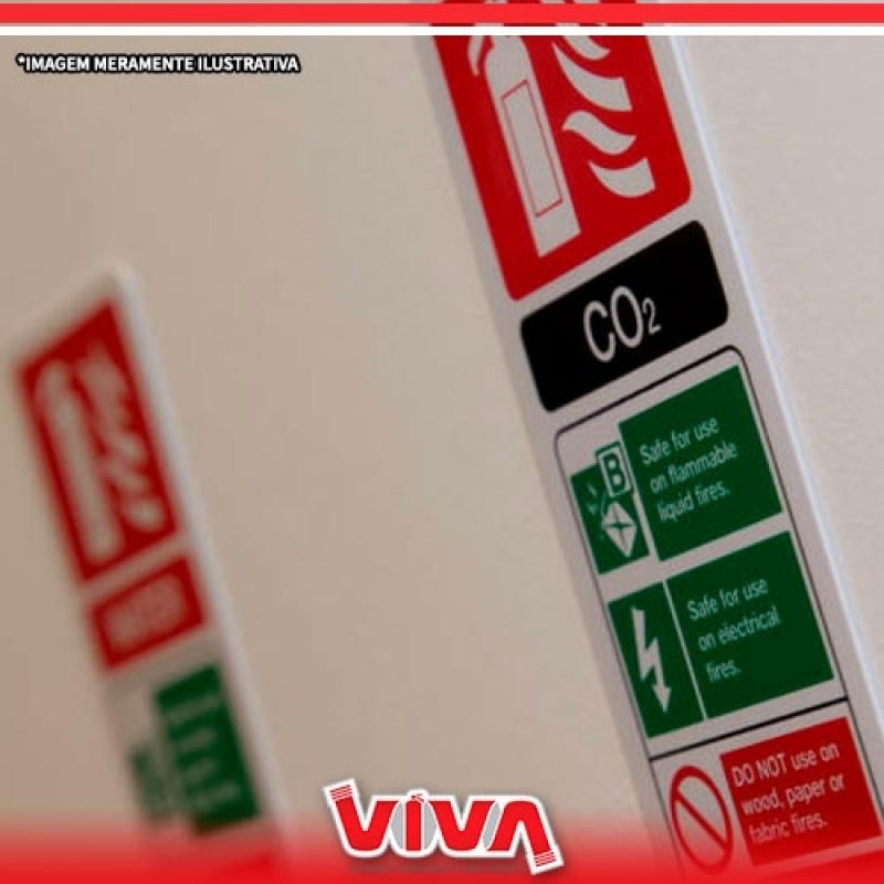 Sinalização de Emergência Nbr Cotação Vila Cruzeiro - Sinalização de Emergência Altura