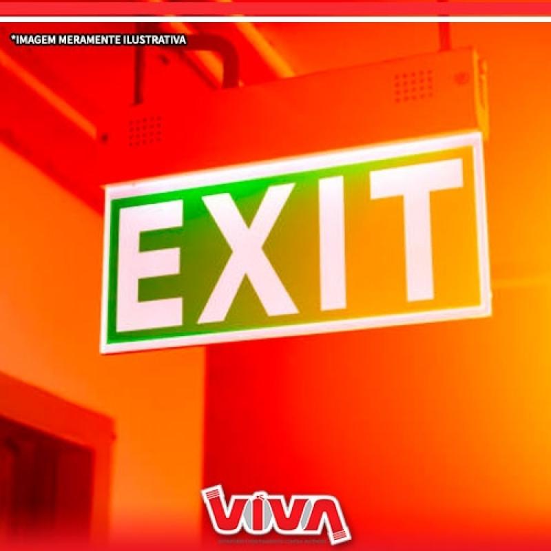 Sinalização de Emergência para Shopping Cotação Parque São Rafael - Sinalização de Emergência Luminosa