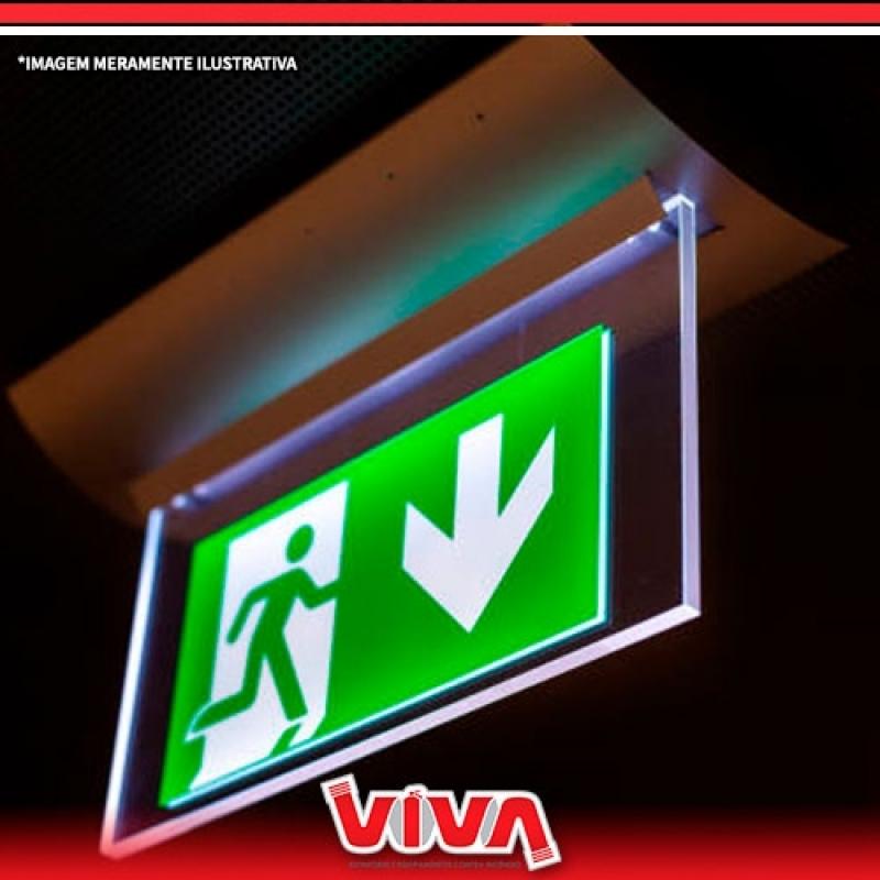 Sinalizações de Emergência para Prédios Residenciais Vila Marisa Mazzei - Sinalização de Emergência Altura