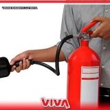 extintor de incêndio a Franco da Rocha