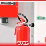 extintor de incêndio grande