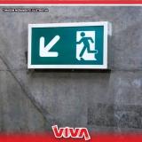 orçamento de sinalização de emergência para prédios residenciais Caieiras