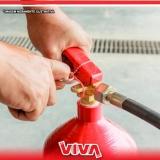 recarga de extintor 4 kilos pó abc preço Vila Romana
