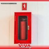 recarga de extintor de gás carbônico preço Cantareira
