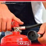 recarga de extintores 4 kilos abc Butantã
