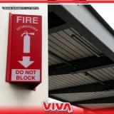 sinalização de emergência contra incêndio Santa Cruz