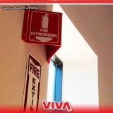 sinalização de emergência cotação Vila Gustavo