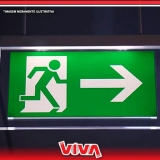 sinalização de emergência luminosa Itaquera