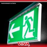 sinalização de emergência para prédios cotação Franco da Rocha
