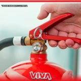 valor de extintor de incêndio sobre rodas Mandaqui