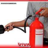 venda de extintor pó 4kg valores Vila Maria