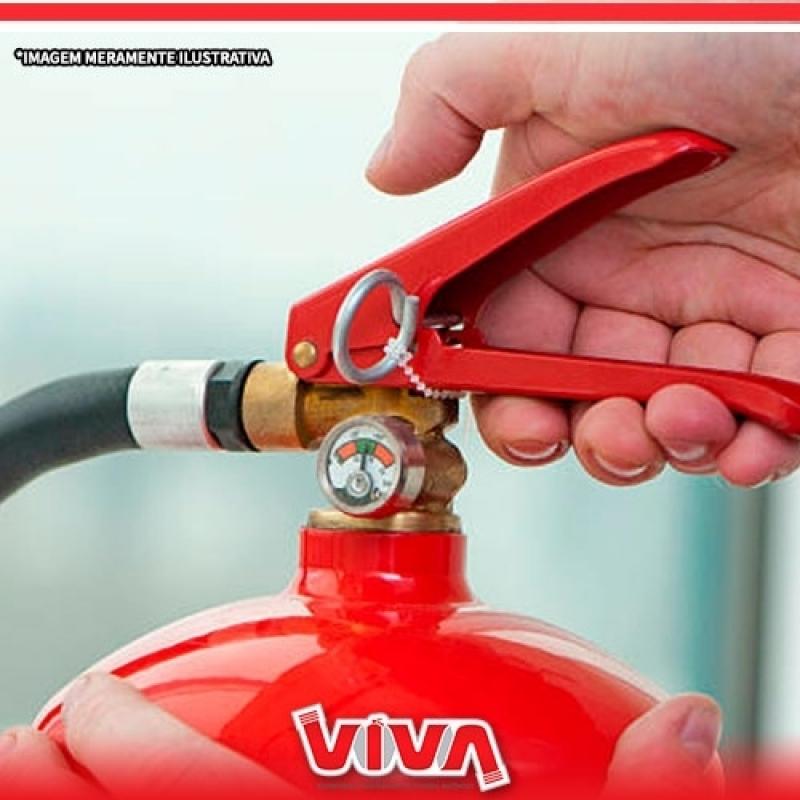 Valor de Extintor de Incêndio sobre Rodas Brasilândia - Extintor de Incêndio Tipo C