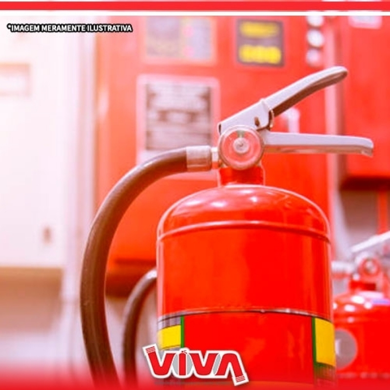 Valor de Extintor de Incêndio Tipo C Itapevi - Extintor de Incêndio Tipo C