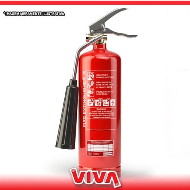 Venda de Extintor de Co2 Ermelino Matarazzo - Venda de Extintor de Incêndio